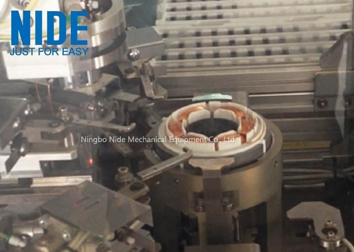 Three Needle Induction Motor Winding Machine Servo Motor Bldc Stator Coil Winding