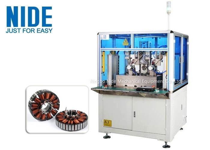 Automatic Blower Motor Coil Winding Machine BLDC Armature Rotor 120 Rpm Efficiency