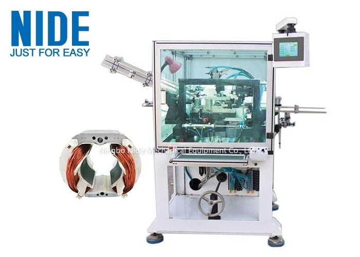 Full Automatic Stator needle Winding Machine / Aluminum , Copper Wire Winding Machine