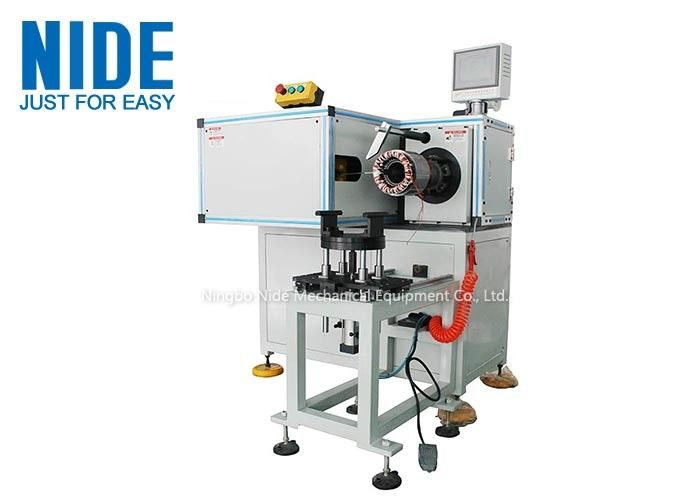 Single Side Stator Coil Lacer Machine / Stator Winding Lacing Equipment