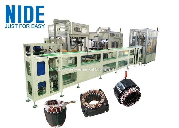 Electric Motor Stator Winding Machine High Efficiency for Fan Motor Stator Production