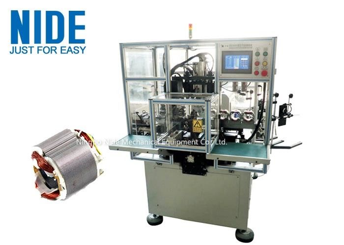 Two Poles Motor Stator Winding Machine Automatic With Touch Screen