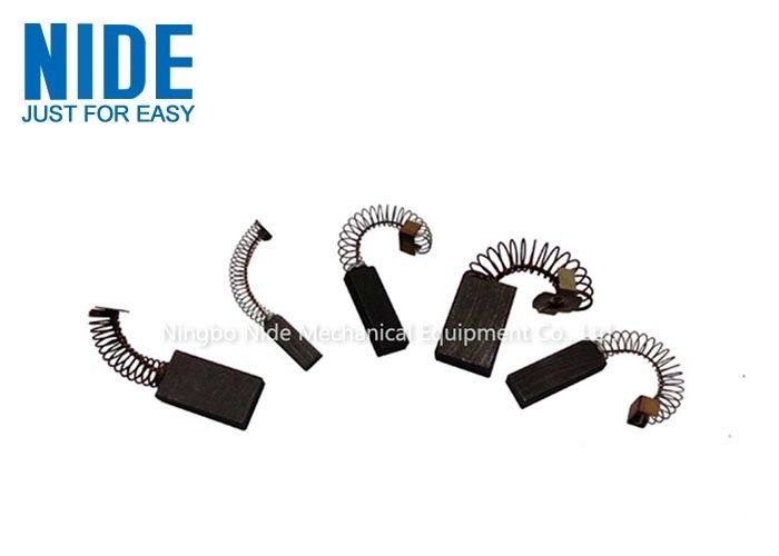 Industrial Electric Carbon Brush Set / Carbon Brushes For Blower Motor