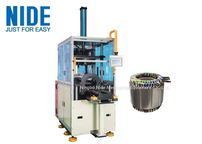 Auto Flip Structure Coil Forming Machine Automatic For Generator And Pump Motor